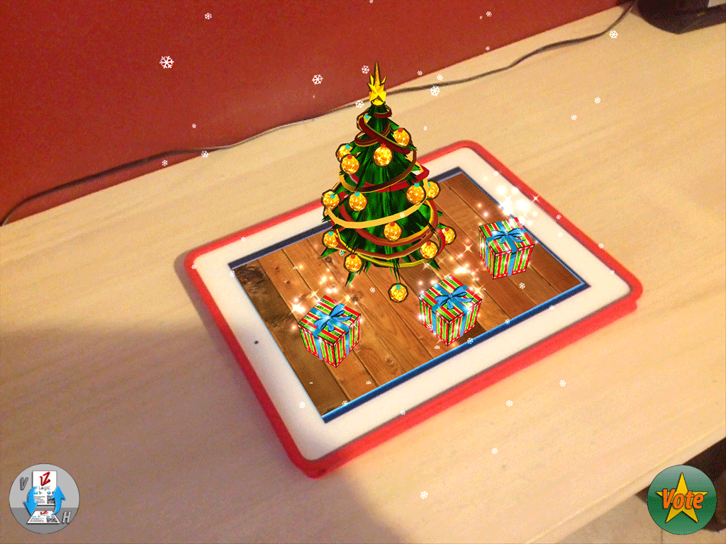 Augmented XMas! render_iPad3